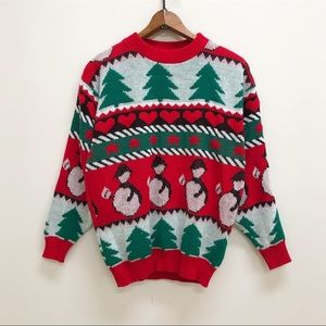 Vintage deadstock Christmas holiday sweater